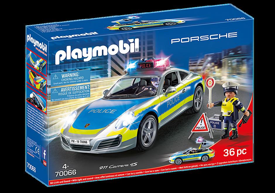 70066 Porsche 911 Carrera 4S Police - White detail image 2
