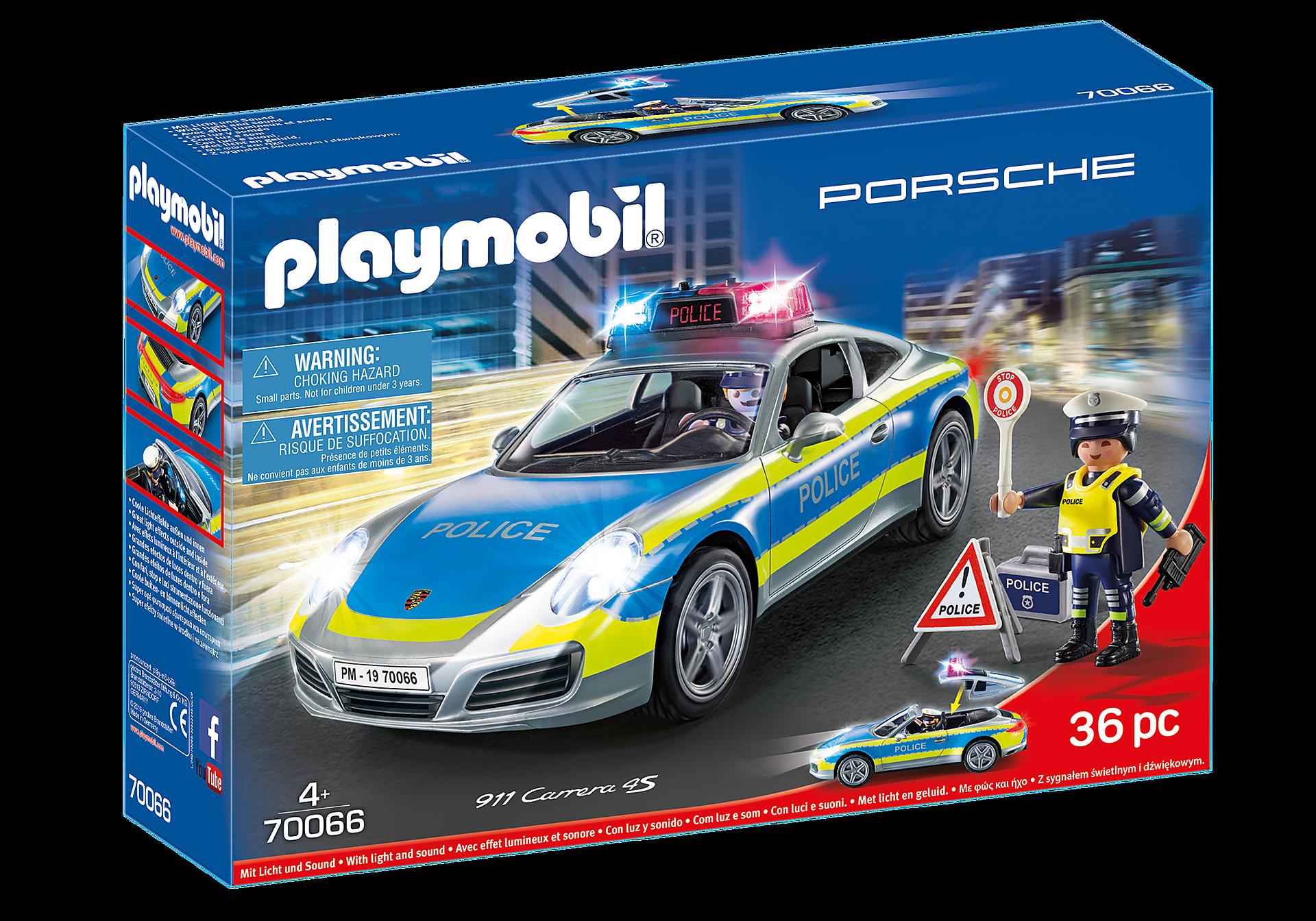 70066 Porsche 911 Carrera 4S Policja zoom image3