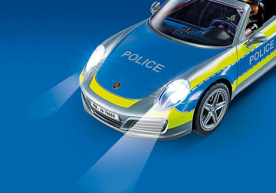 70066 Porsche 911 Carrera 4S Police - White detail image 5