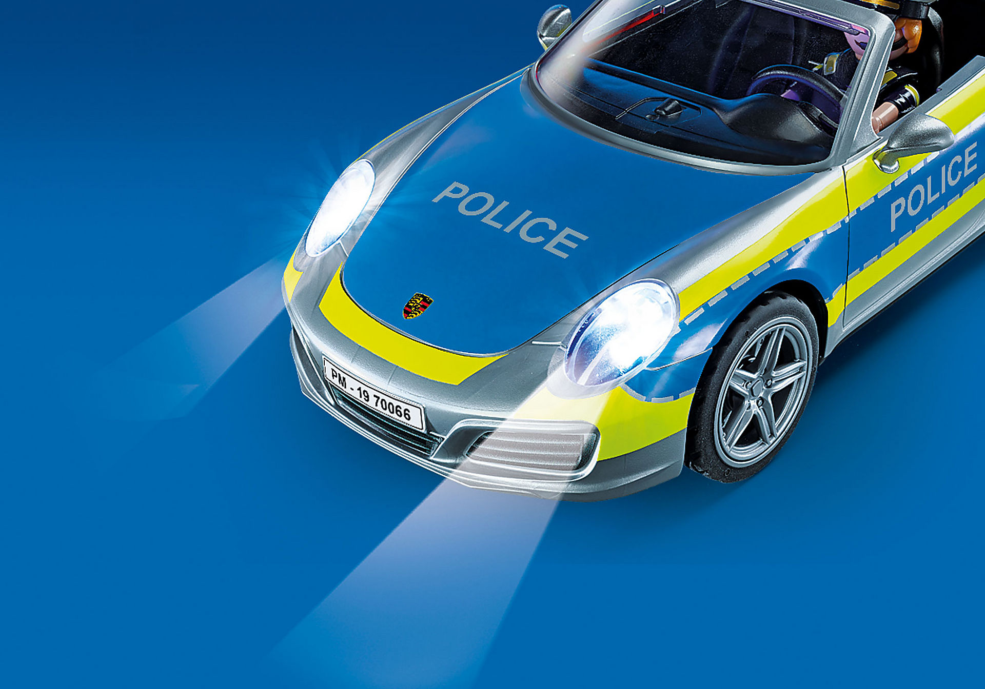 70066 Porsche 911 Carrera 4S Police zoom image5