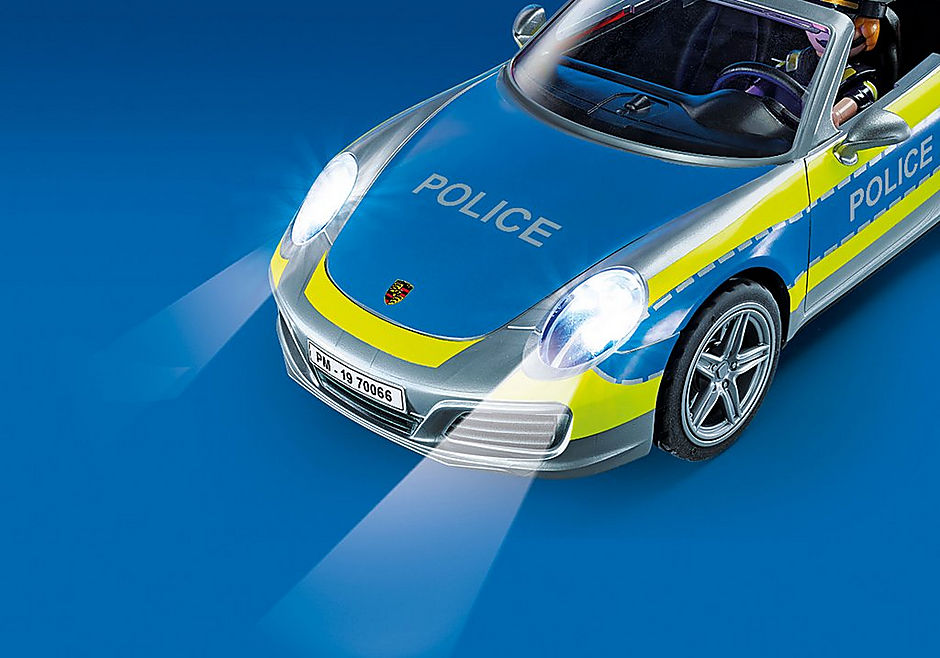 70066 Porsche 911 Carrera 4S Policja detail image 5