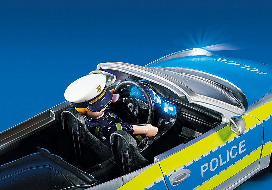 70066 Porsche 911 Carrera 4S Police - White detail image 7