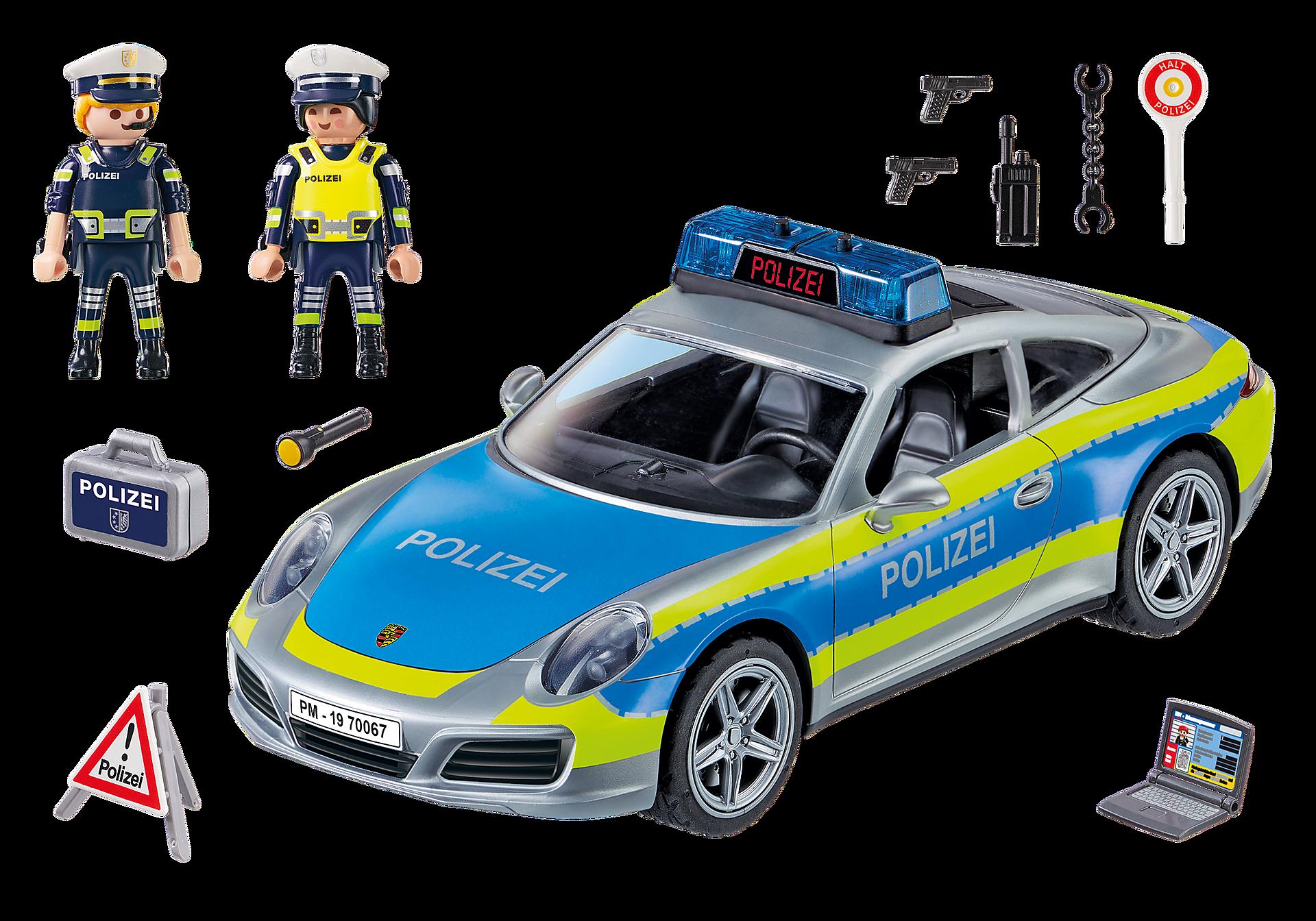 70067 Porsche 911 Carrera 4S Polis – Grå zoom image3