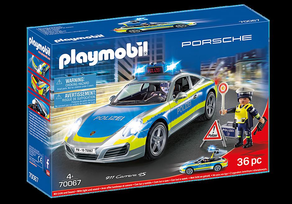 70067 Porsche 911 Carrera 4S Polis – Grå detail image 2
