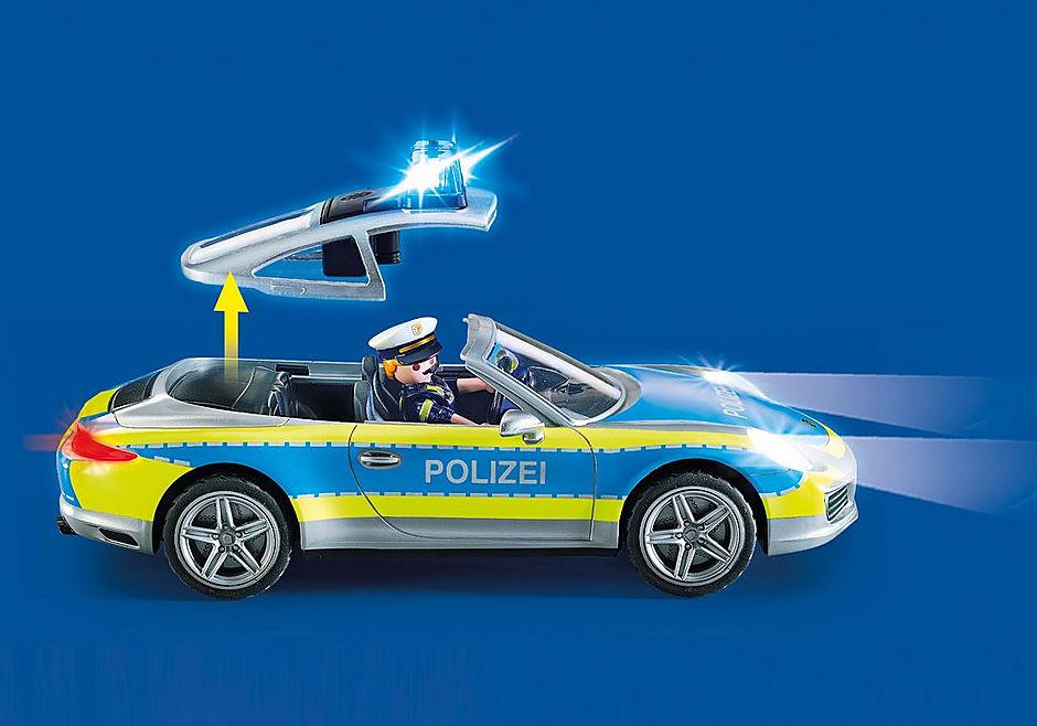 70067 Porsche 911 Carrera 4S Politie - grijs detail image 4
