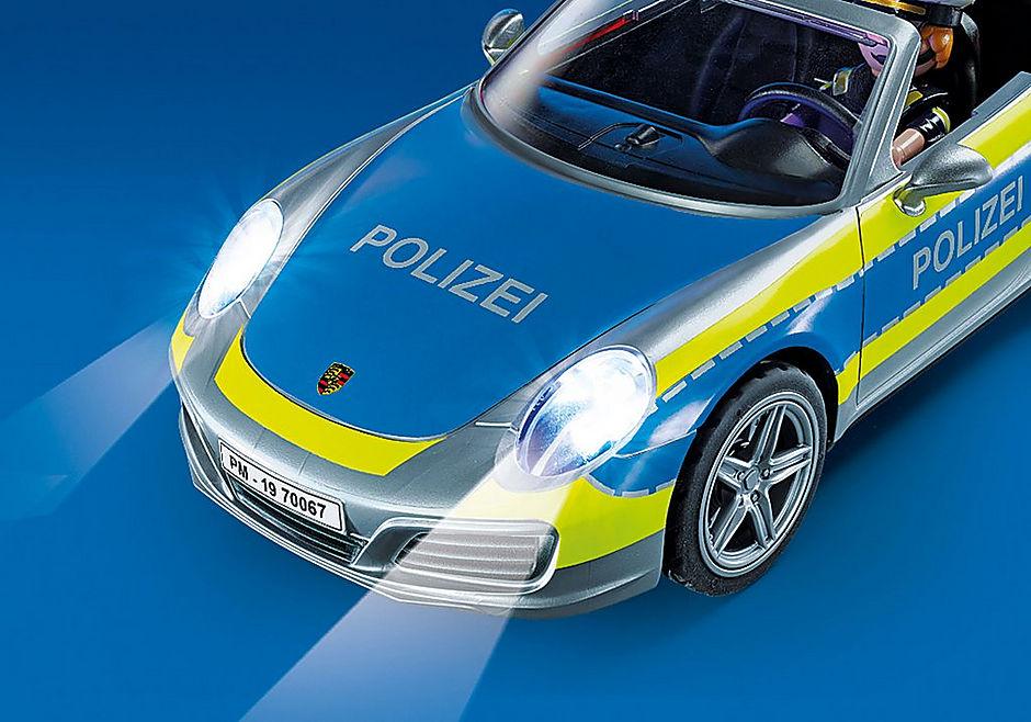 70067 Porsche 911 Carrera 4S Politie - grijs detail image 5