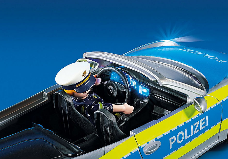 70067 Porsche 911 Carrera 4S Polis – Grå detail image 7