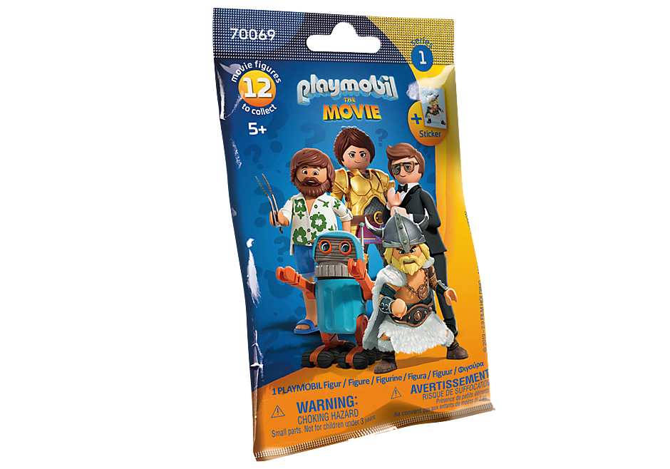 70069 PLAYMOBIL:THE MOVIE Figures (Serie 1) detail image 2