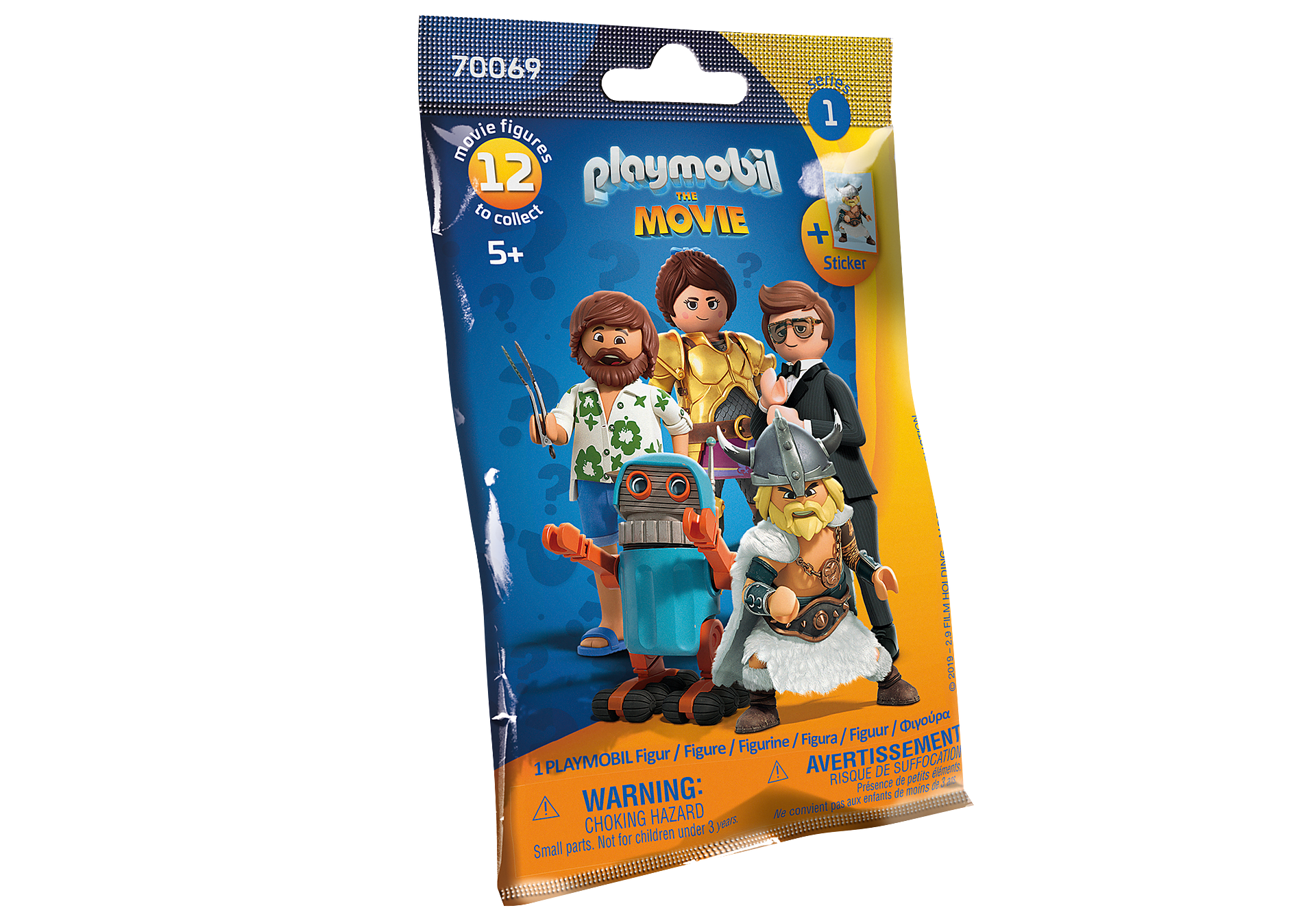 70069 PLAYMOBIL:THE MOVIE Figures (Serie 1) zoom image2