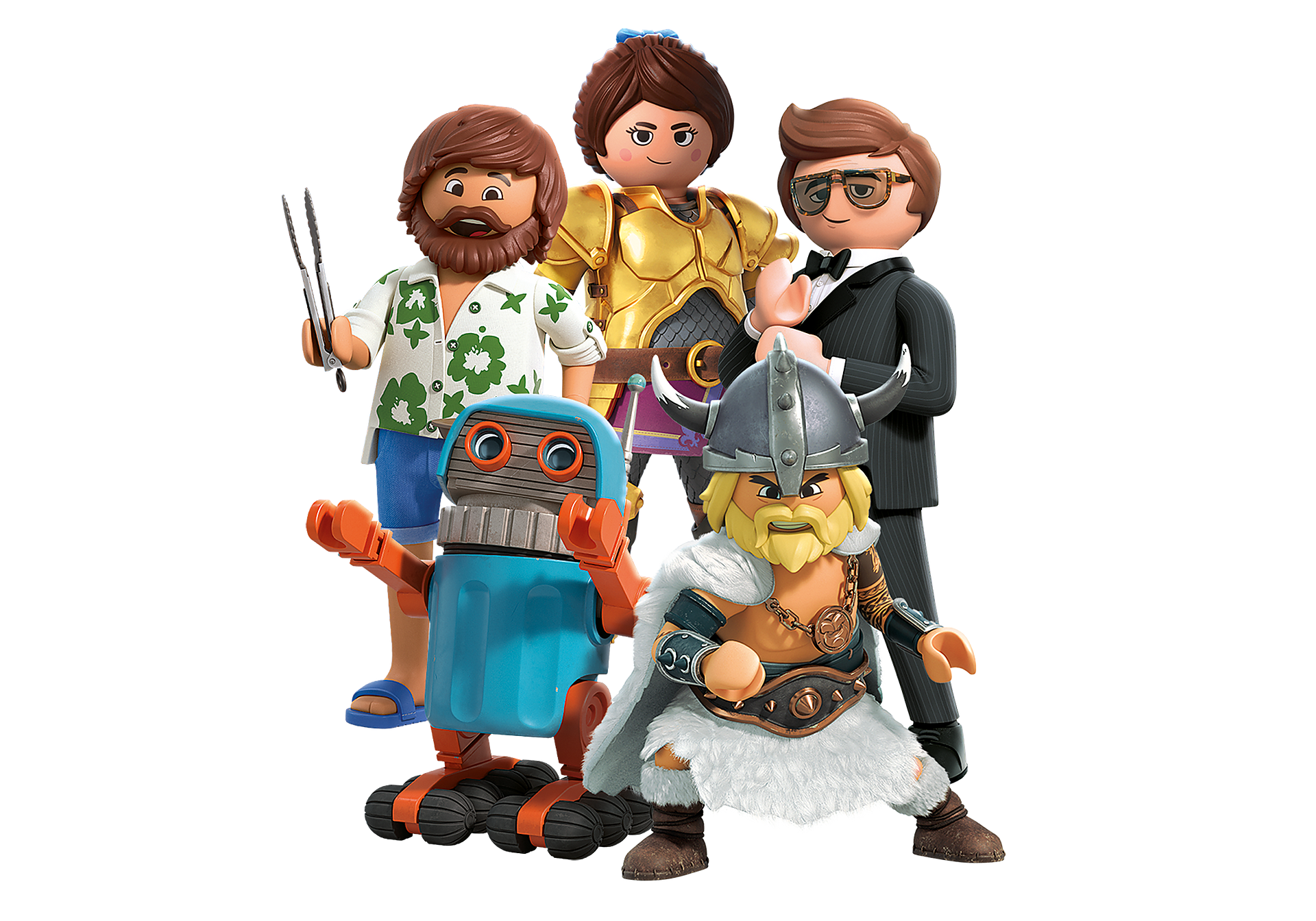 70069 PLAYMOBIL:THE MOVIE Figures (Serie 1) zoom image1