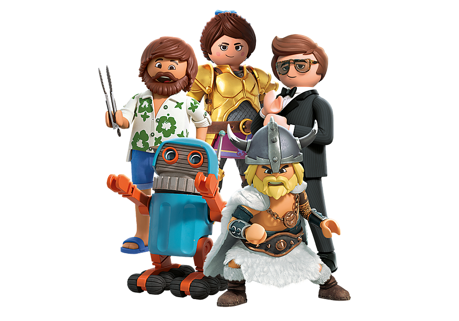 70069 PLAYMOBIL:THE MOVIE Figures (Series 1) detail image 1