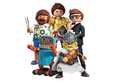 70069 PLAYMOBIL:THE MOVIE Figures (Series 1)