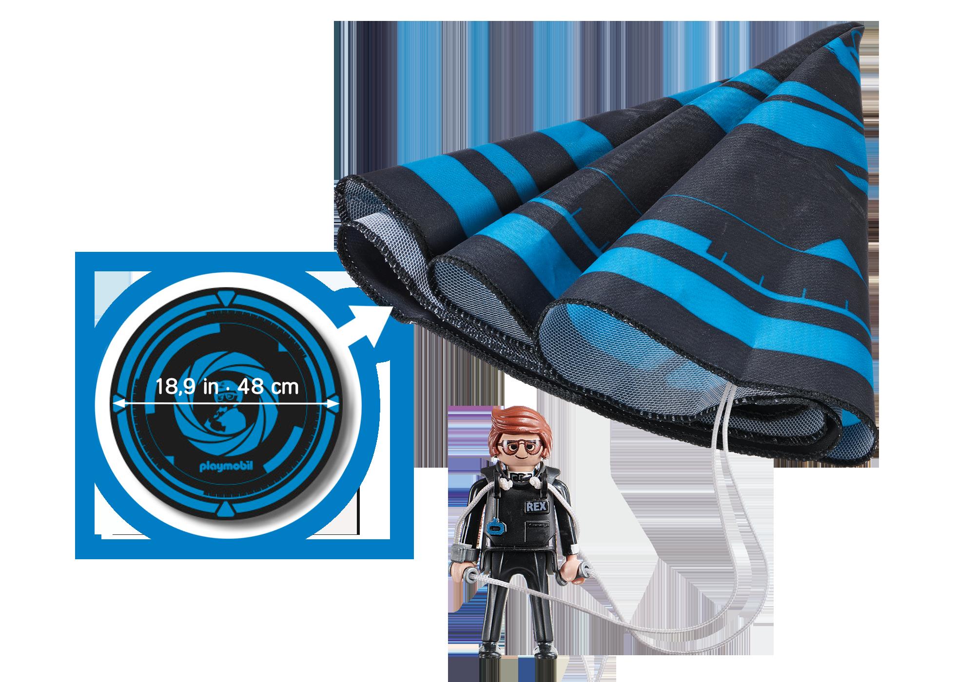 http://media.playmobil.com/i/playmobil/70070_product_box_back/PLAYMOBIL:THE MOVIE Rex Dasher with Parachute