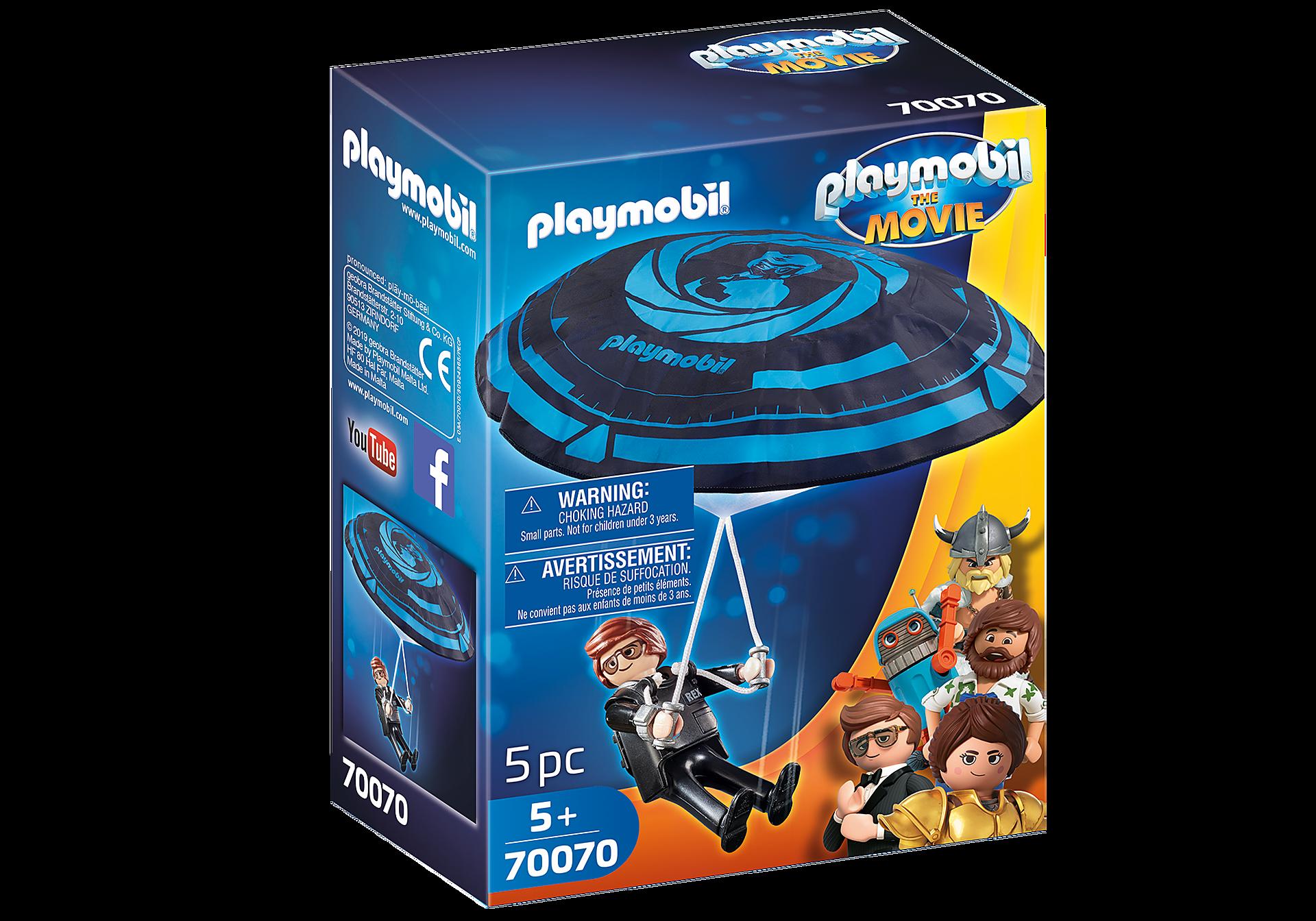 http://media.playmobil.com/i/playmobil/70070_product_box_front/PLAYMOBIL: THE MOVIE Rex Dasher con Paracaídas