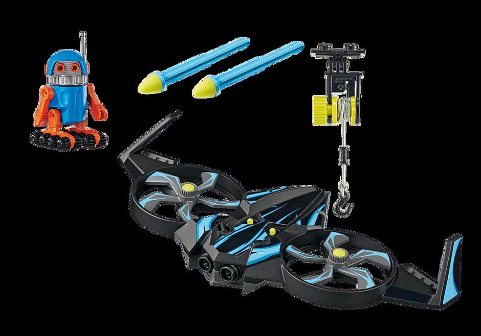 70071 PLAYMOBIL: THE MOVIE Robotitron with Drone detail image 3