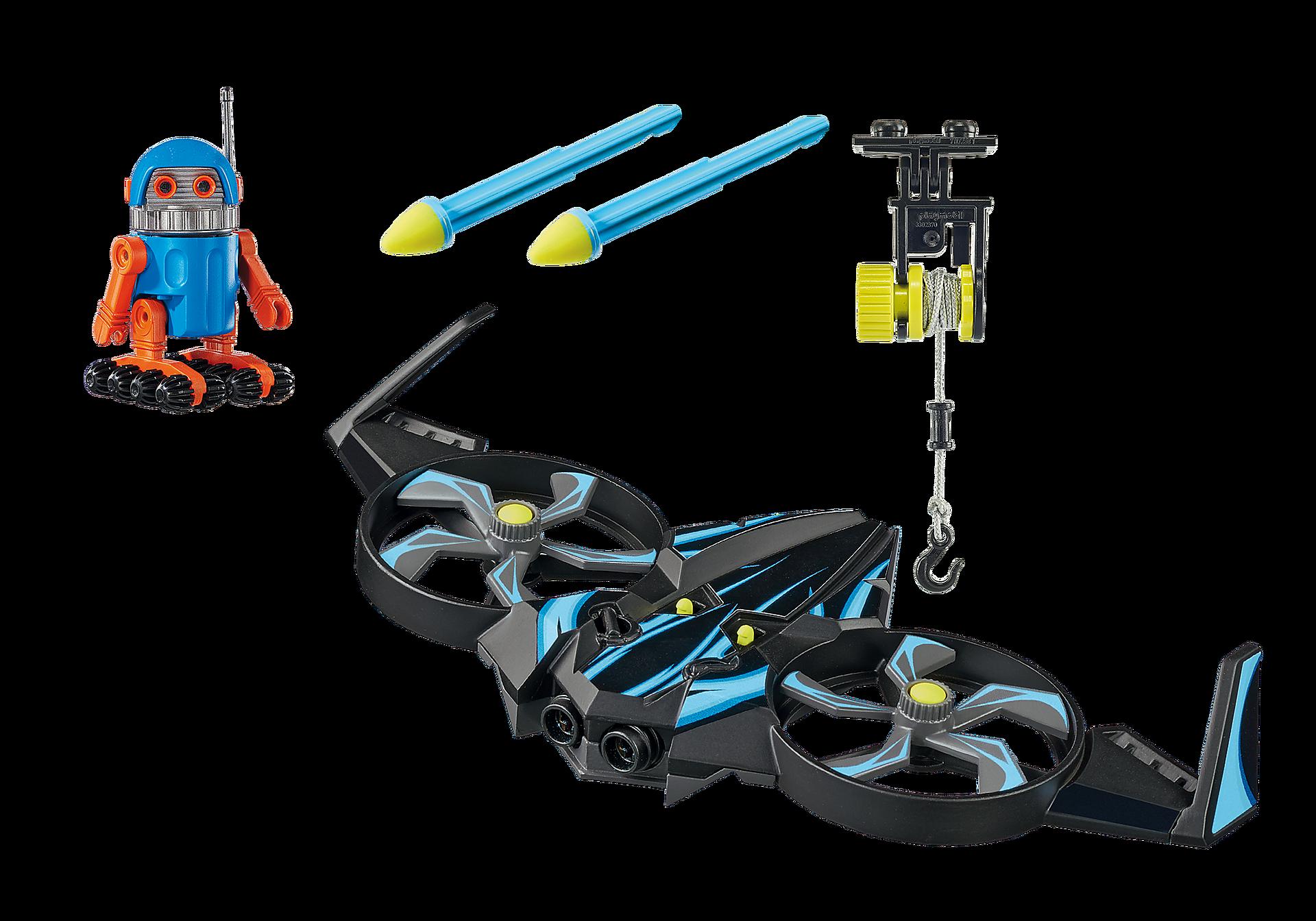 http://media.playmobil.com/i/playmobil/70071_product_box_back/PLAYMOBIL:THE MOVIE Robotitron mit Drohne