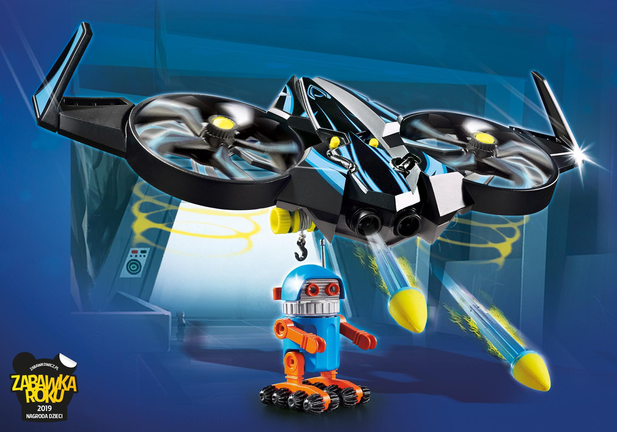 70071_product_detail/PLAYMOBIL: THE MOVIE Robotitron z dronem