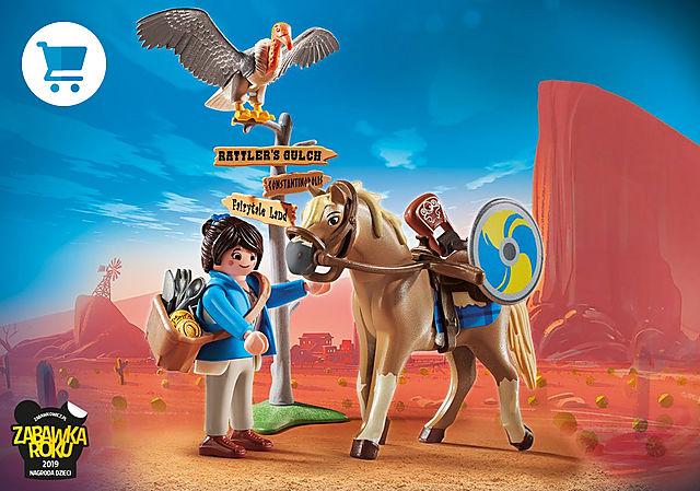 70072_product_detail/PLAYMOBIL: THE MOVIE Marla z koniem