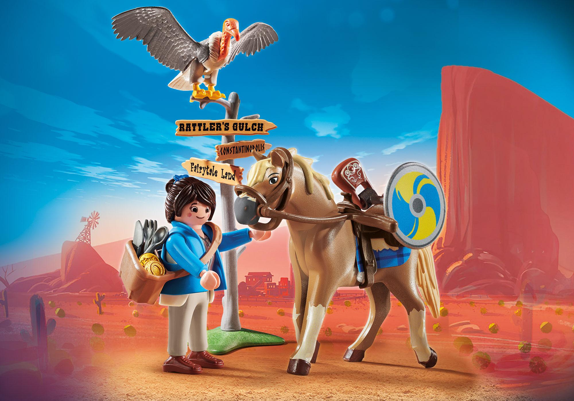 70072_product_detail/PLAYMOBIL:THE MOVIE Marla mit Pferd