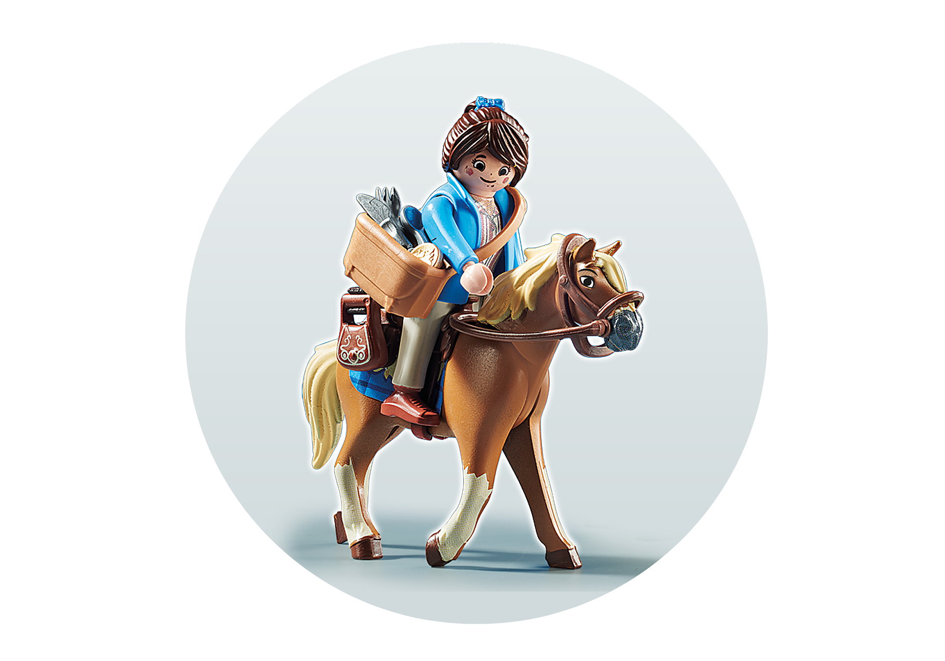 70072 PLAYMOBIL: THE MOVIE Marla avec cheval  zoom image4