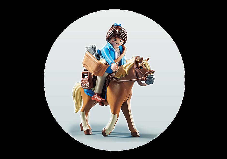 70072 PLAYMOBIL:THE MOVIE Marla mit Pferd detail image 4