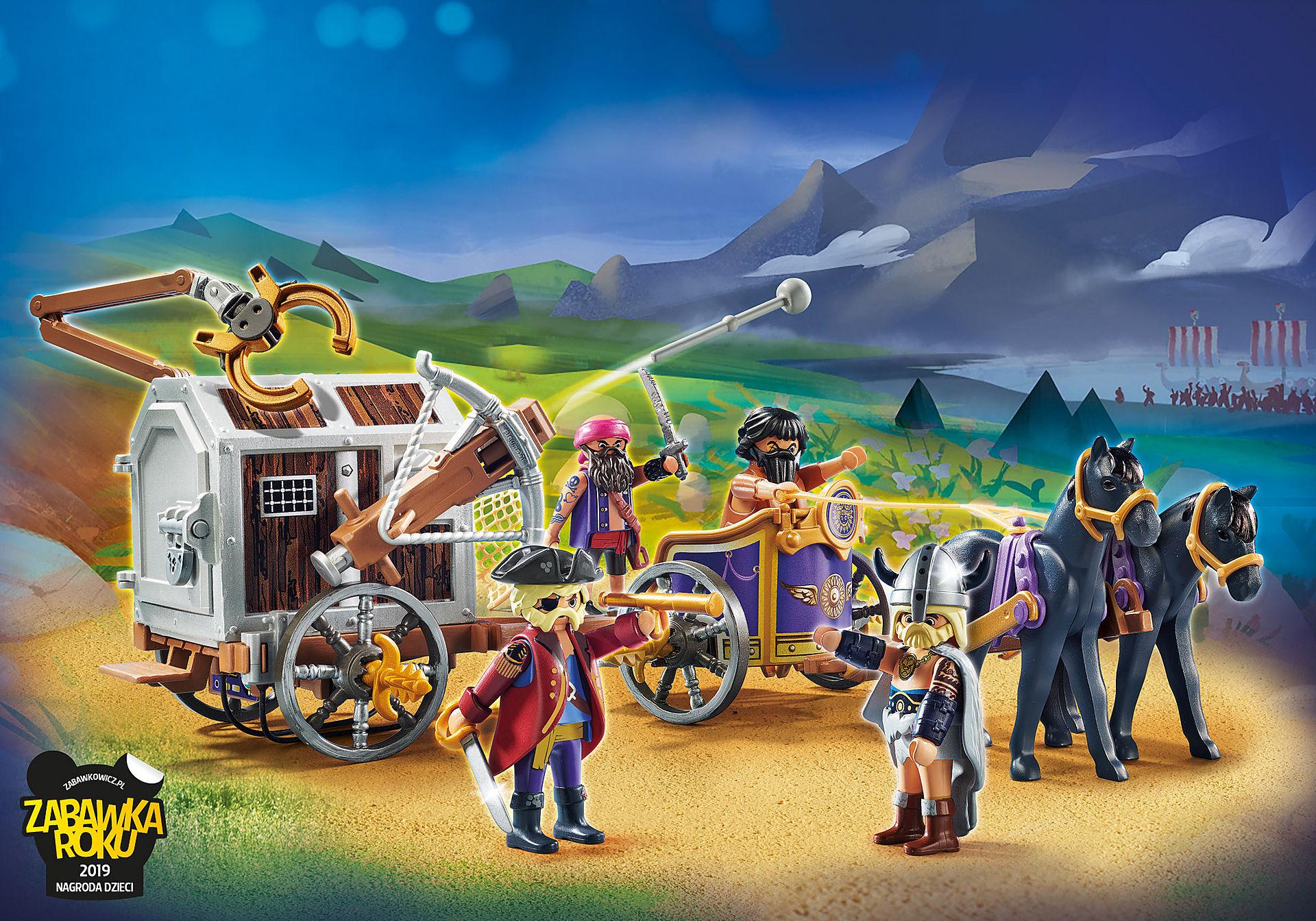 70073 PLAYMOBIL: THE MOVIE Charlie i powóz rzezimieszków zoom image1