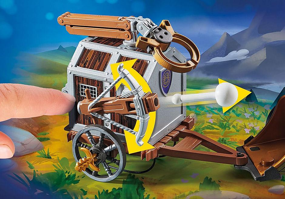 70073 PLAYMOBIL: THE MOVIE Charlie con carro prigione detail image 4