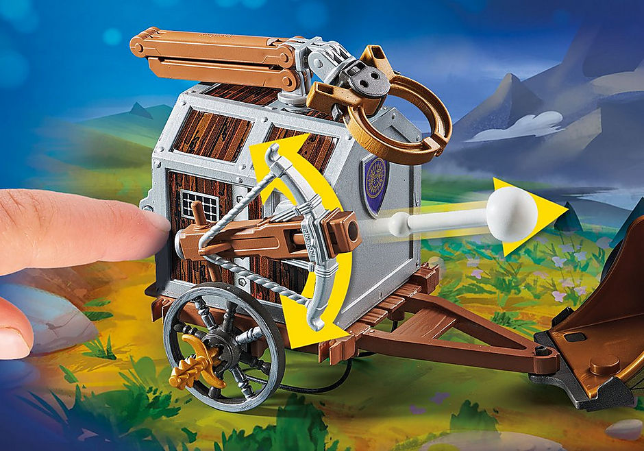 70073 PLAYMOBIL: THE MOVIE Charlie with Prison Wagon detail image 4