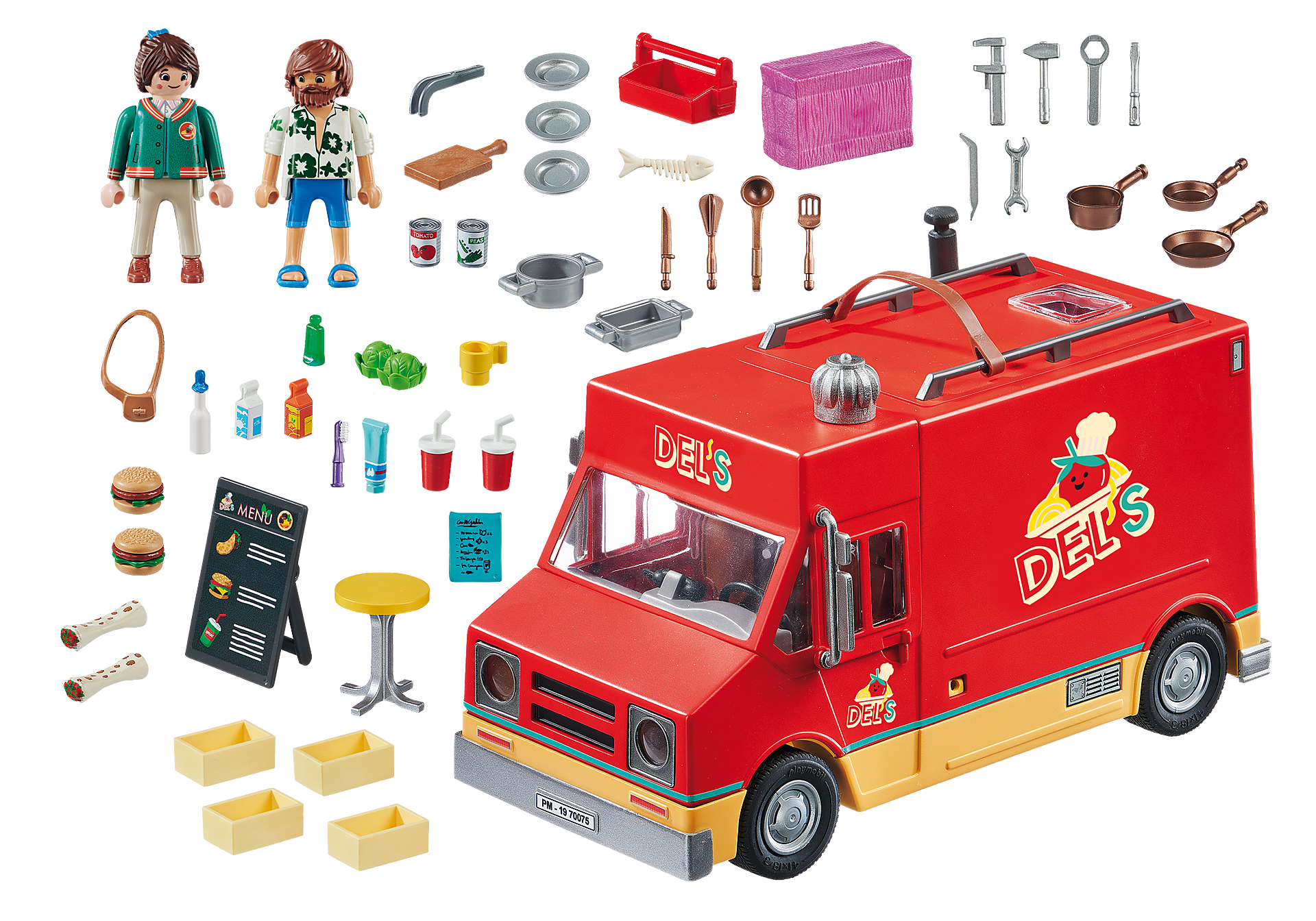 70075 PLAYMOBIL. THE MOVIE Carrinha da Comida do Del zoom image3