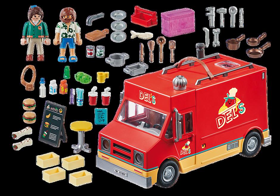 http://media.playmobil.com/i/playmobil/70075_product_box_back/PLAYMOBIL: THE MOVIE Food Truck de Del