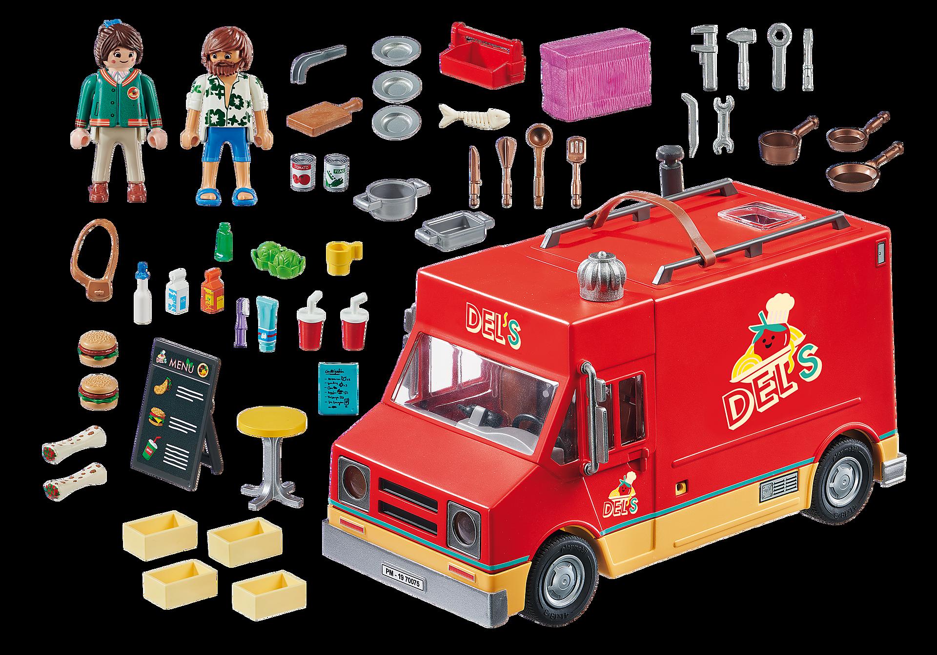 70075 PLAYMOBIL: THE MOVIE Food Truck de Del  zoom image3