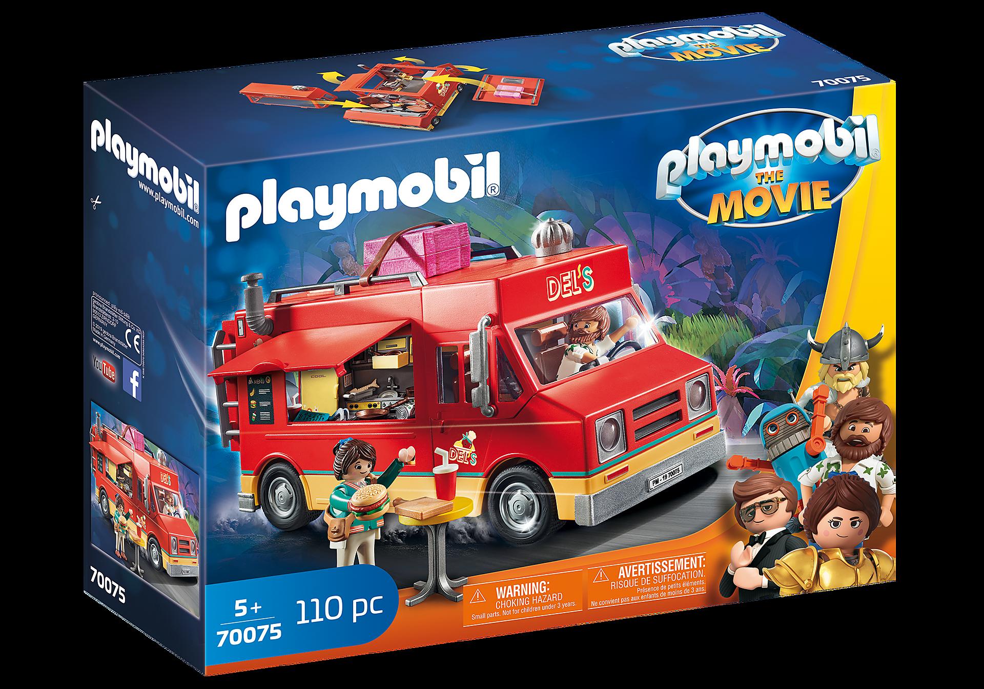 70075 PLAYMOBIL: THE MOVIE Del büfékocsija zoom image2