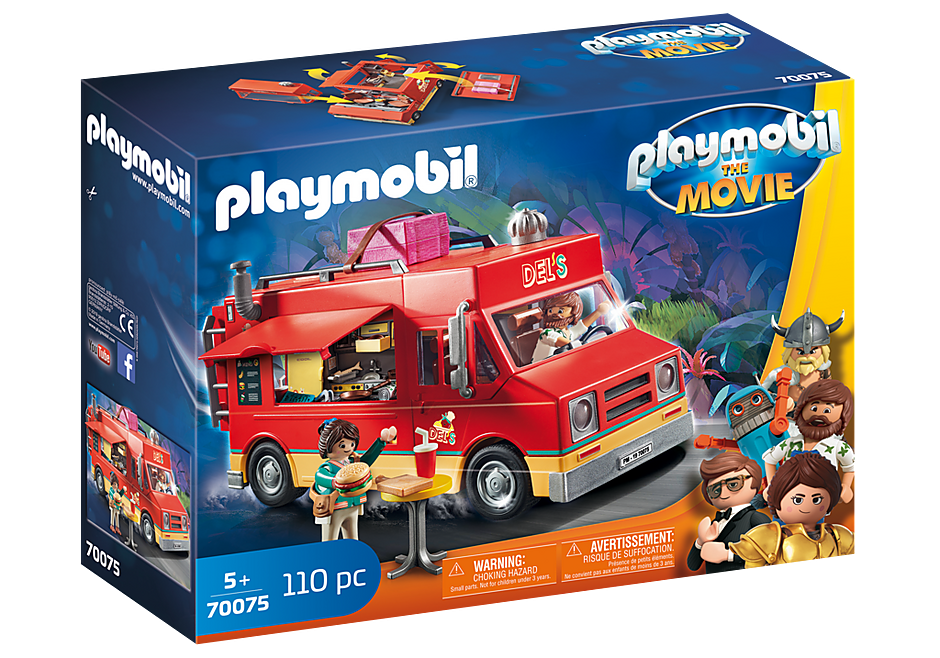 70075 PLAYMOBIL: THE MOVIE Del's Food Truck detail image 2