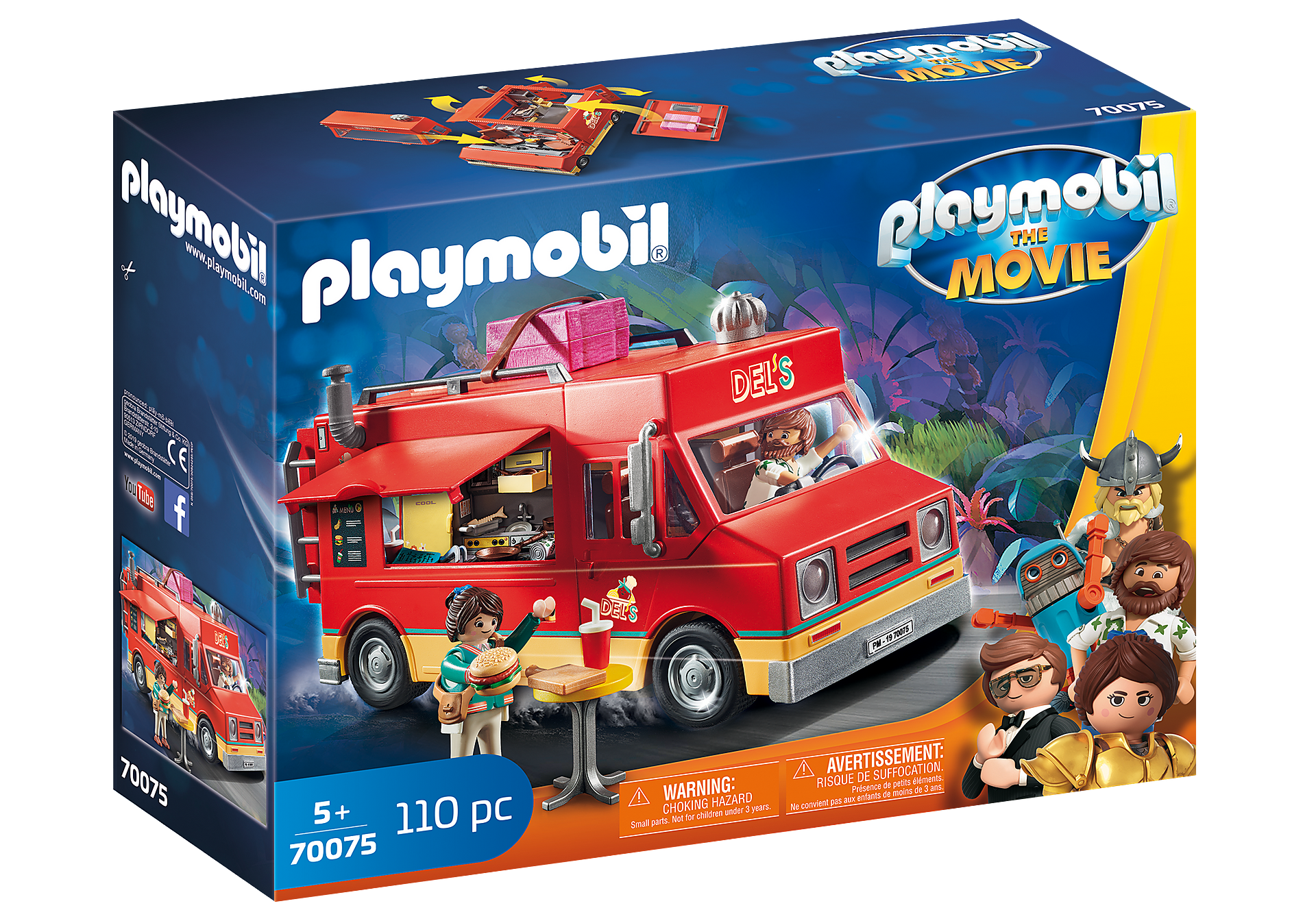 70075 PLAYMOBIL: THE MOVIE Del's Food Truck zoom image2