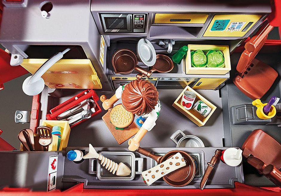 70075 PLAYMOBIL:THE MOVIE Del's Food Truck detail image 4