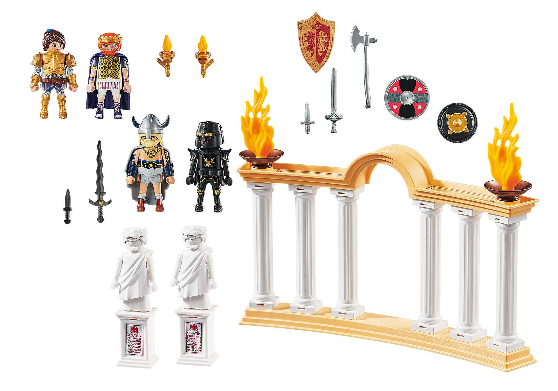 70076 PLAYMOBIL: THE MOVIE Emperador Maximus en el Coliseo zoom image3