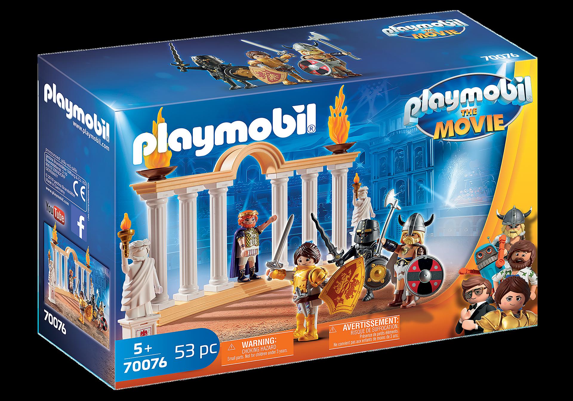 70076 PLAYMOBIL:THE MOVIE  Kaiser Maximus im Kolosseum zoom image2