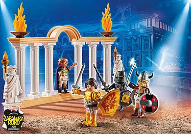 70076_product_detail/PLAYMOBIL: THE MOVIE Cesarz Maximus w Koloseum