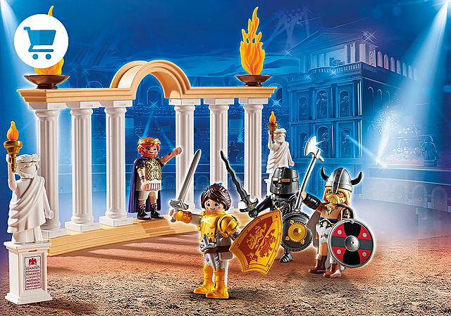 70076_product_detail/PLAYMOBIL: THE MOVIE Emperador Maximus en el Coliseo