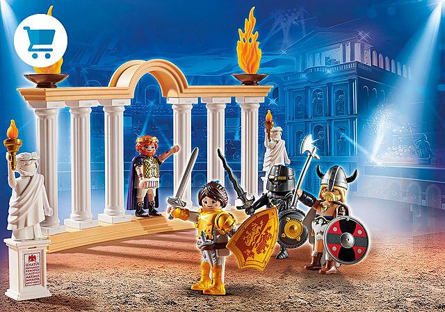 70076_product_detail/PLAYMOBIL: THE MOVIE Empereur Maximus et Colisée
