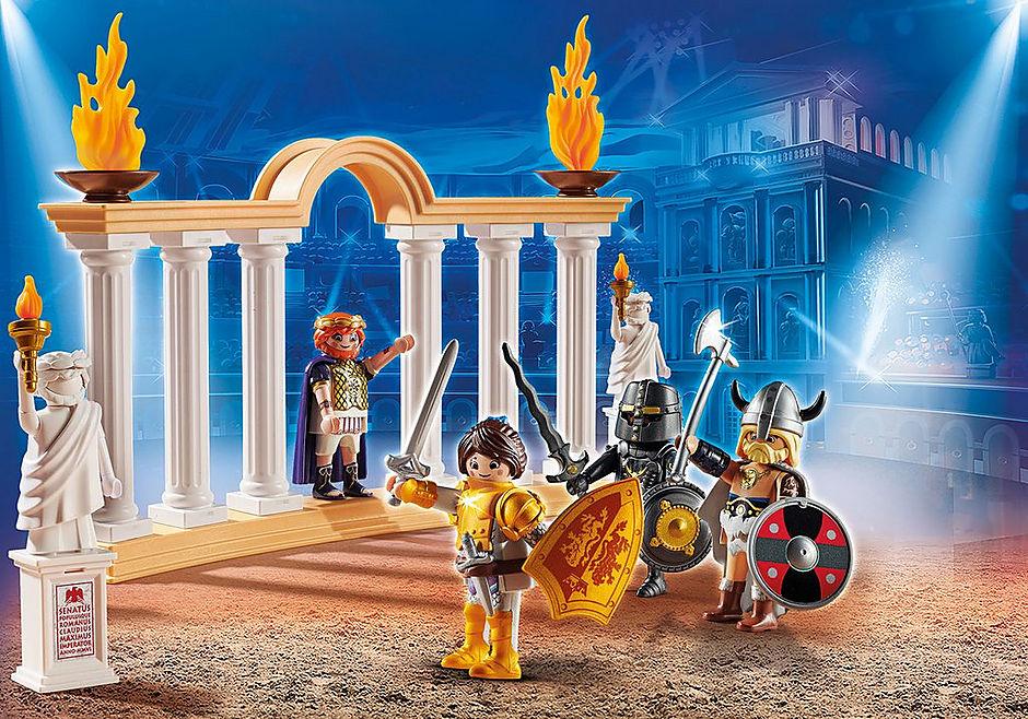 70076 PLAYMOBIL: THE MOVIE Empereur Maximus et Colisée  detail image 1