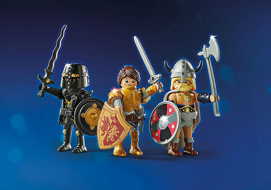 70076 PLAYMOBIL: THE MOVIE Empereur Maximus et Colisée  detail image 4