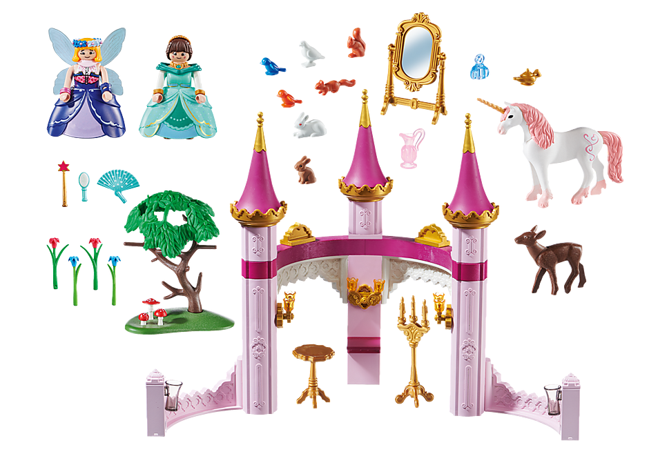 70077 PLAYMOBIL: THE MOVIE Marla in the Fairytale Castle detail image 3
