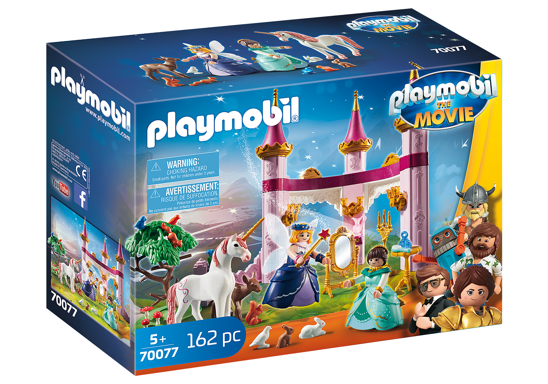 70077 PLAYMOBIL: THE MOVIE Marla in het Sprookjeskasteel zoom image2