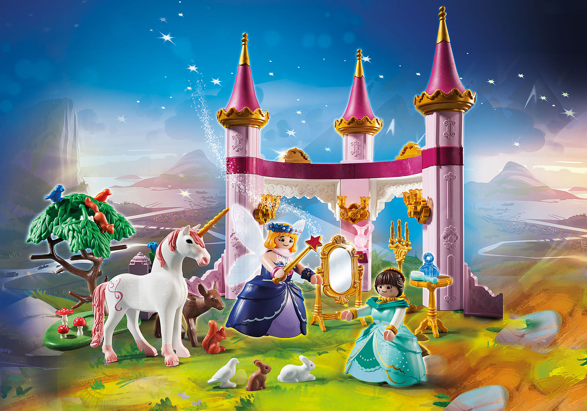 70077 PLAYMOBIL:THE MOVIE Marla in the Fairytale Castle zoom image1
