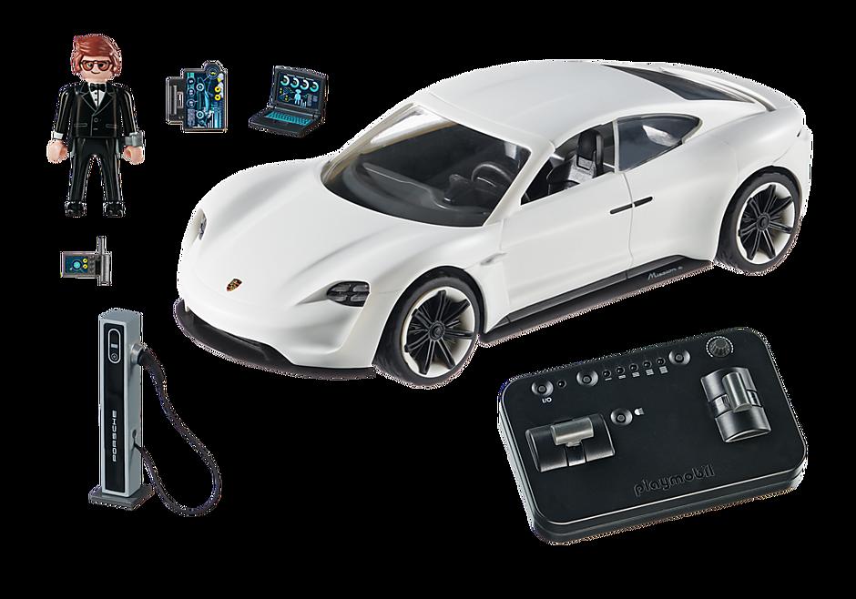 70078 PLAYMOBIL: THE MOVIE Rex Dasher et  Porsche Mission E detail image 3