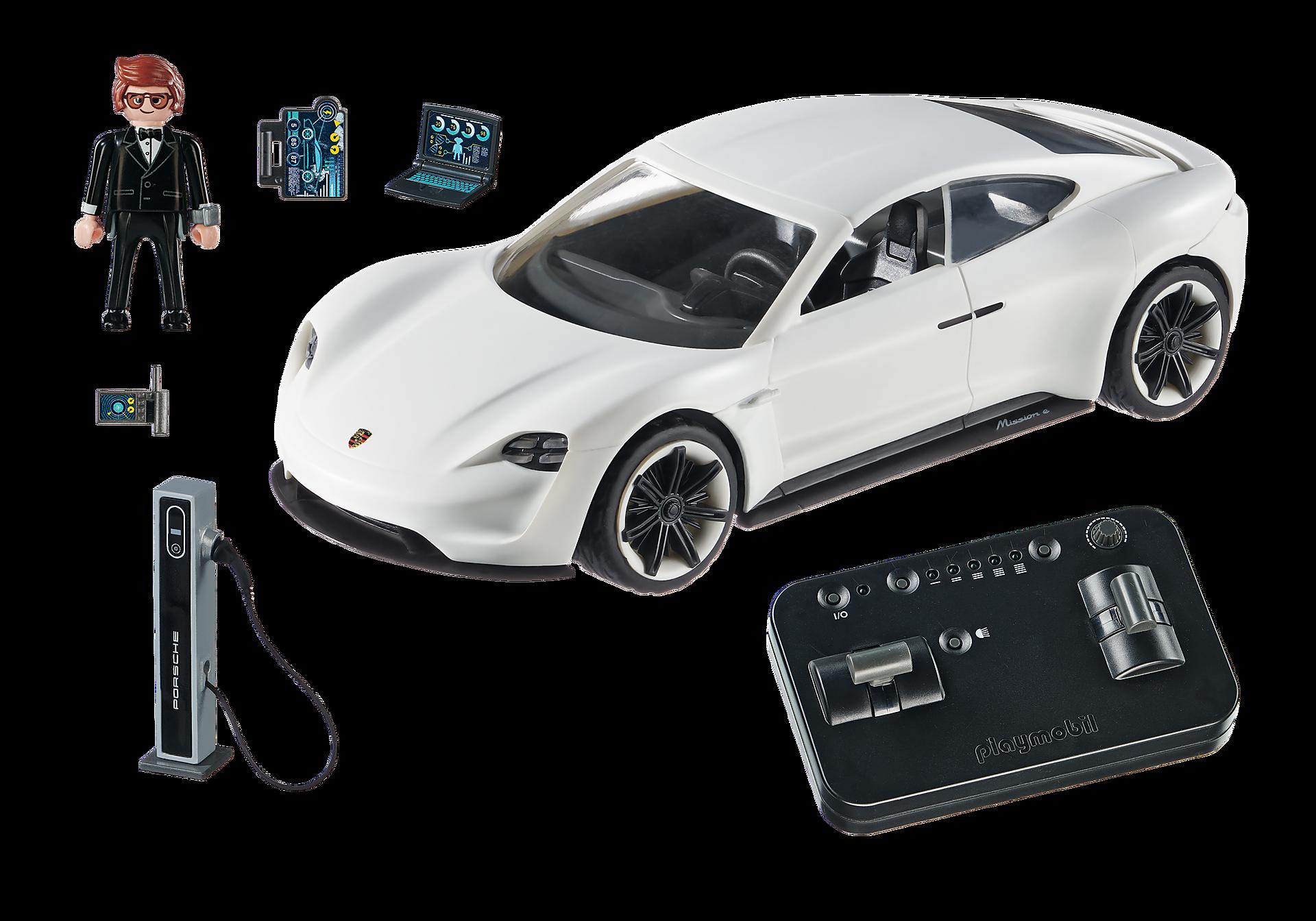 70078 PLAYMOBIL:THE MOVIE Rex Dasher's Porsche Mission E zoom image4