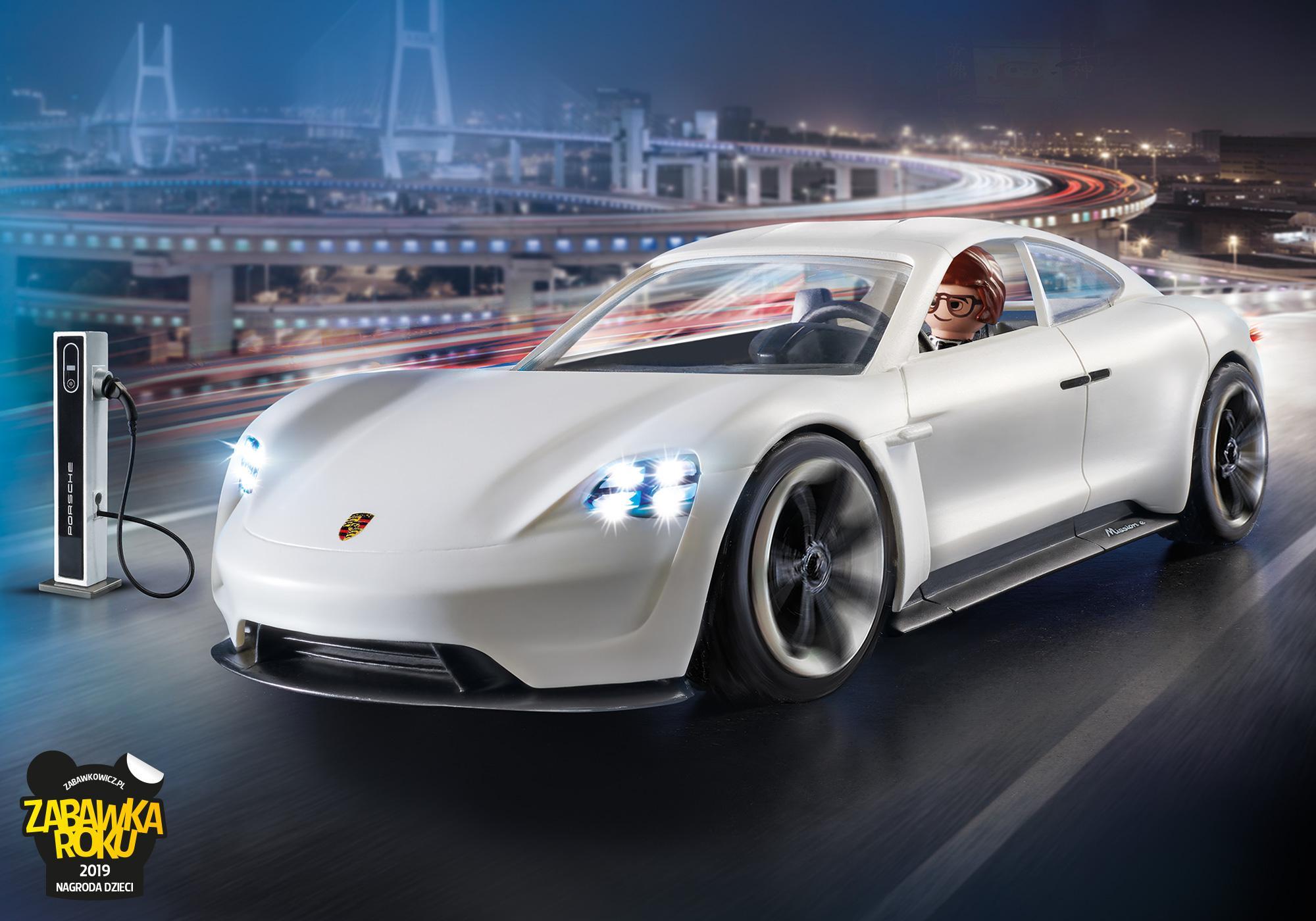 70078_product_detail/PLAYMOBIL: THE MOVIE Porsche Mission E Rex'a Desher'a