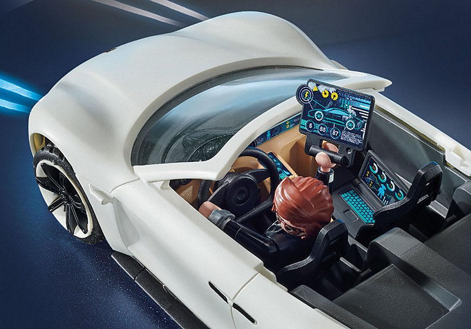70078 PLAYMOBIL: THE MOVIE Rex Dasher's Porsche Mission E detail image 7
