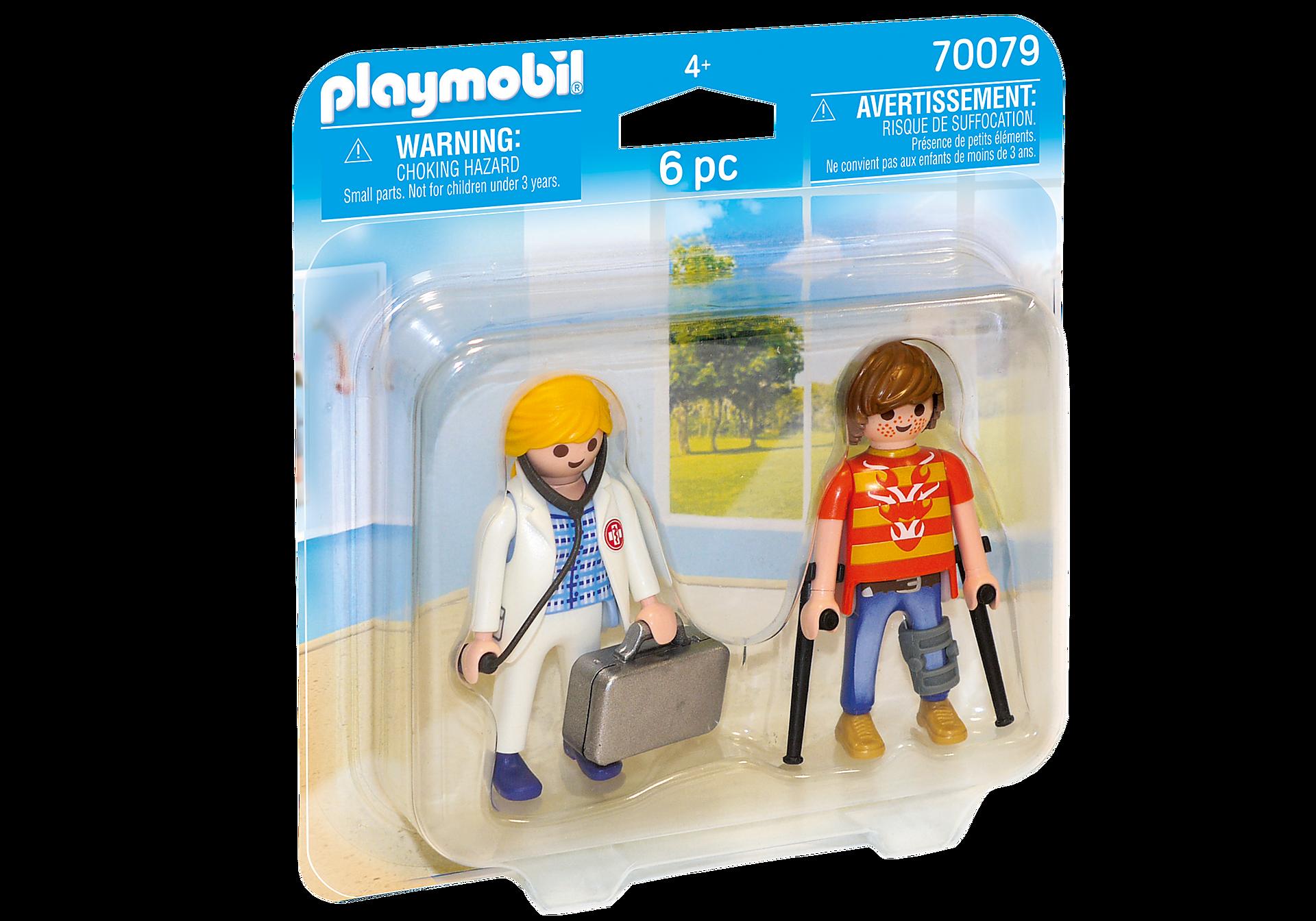70079 Duo Pack Doctora y Paciente zoom image2